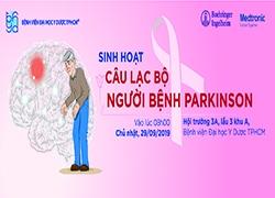 Thư mời tham dự buổi tư vấn cho người bệnh Parkinson 29/9